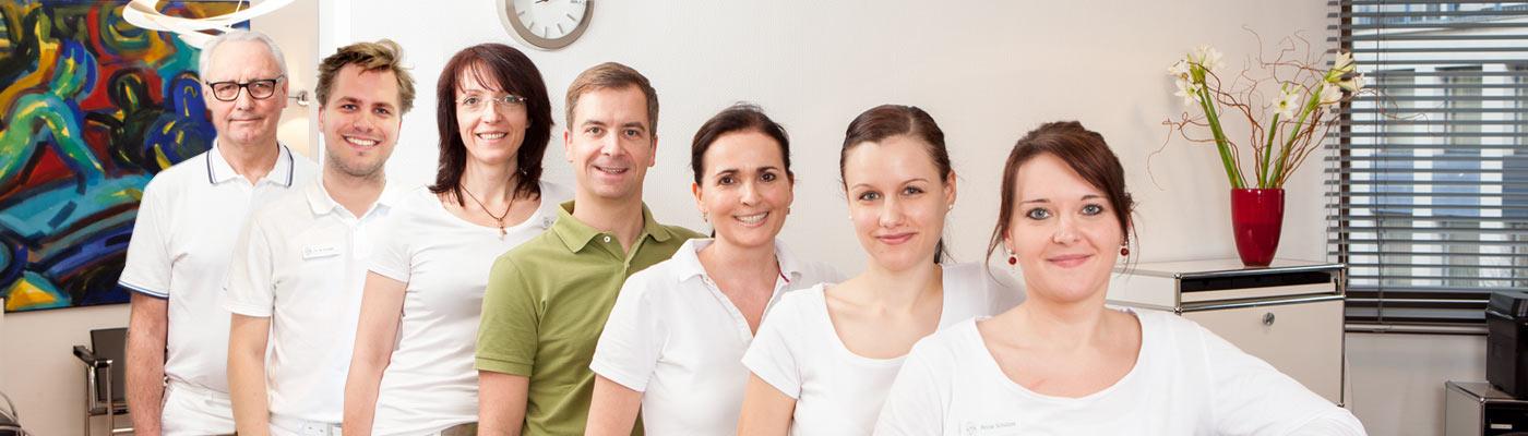 Team der Zahnärzte Schmitt in Berlin Zehlendorf